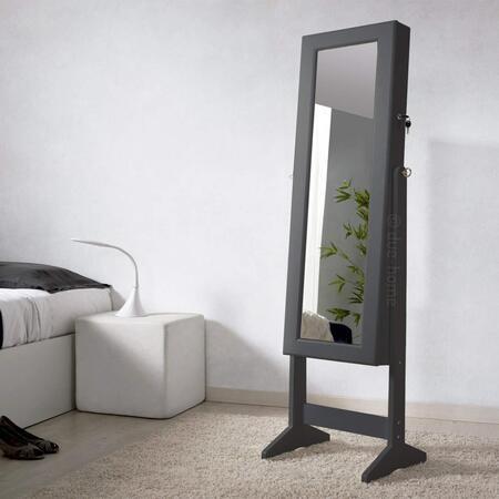 espejo joyero negro Due Home
