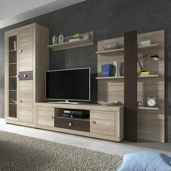 Mueble de salón moderno de madera Homesouth