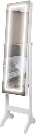espejo joyero barato con luces LED Ezigoo