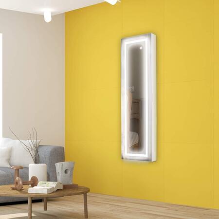 espejo joyero barato con luz LED Ezigoo