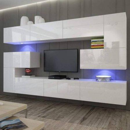 mueble de salón moderno blanco HomeDirect