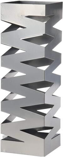 paraguero de diseño de metal pleateado DRW