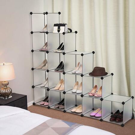armario zapatero modular Songmics