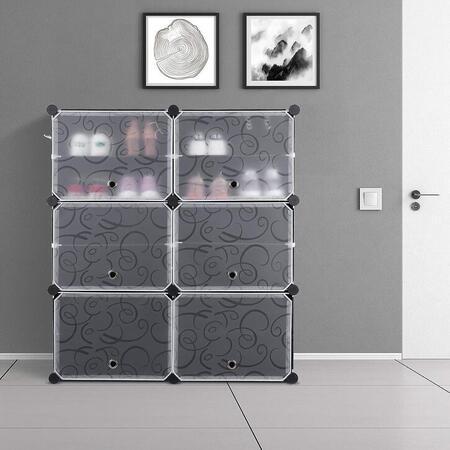 armario zapatero modular homfa