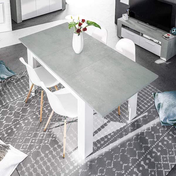 Mesa comedor extensible barata Habit Design