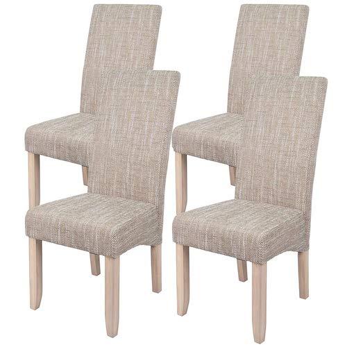 Set de sillas de comedor Abitti arena