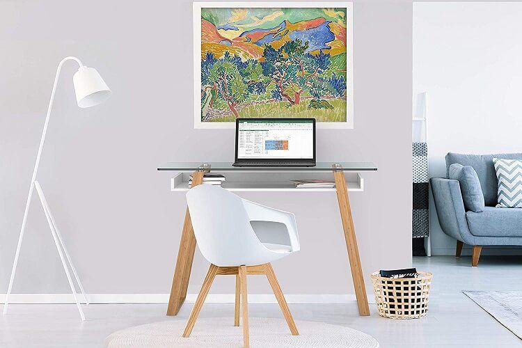 mesa de ordenador barata estilo contemporáneo