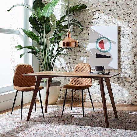 mesa de comedor estilo minimalista Rivet
