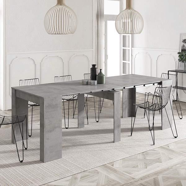 mesa de comedor extensible Kendra