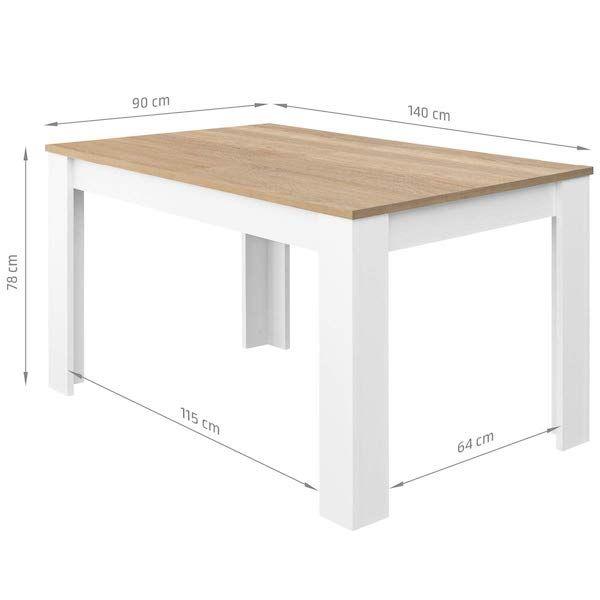 mesa de comedor extensible comifort