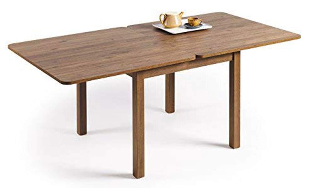 mesa de comedor extensible madera envejecida