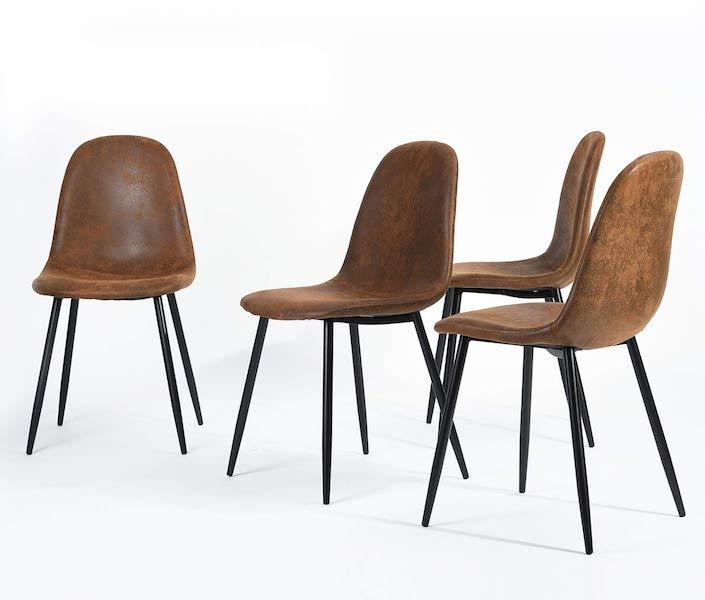 set de sillas de comedor Homycasa