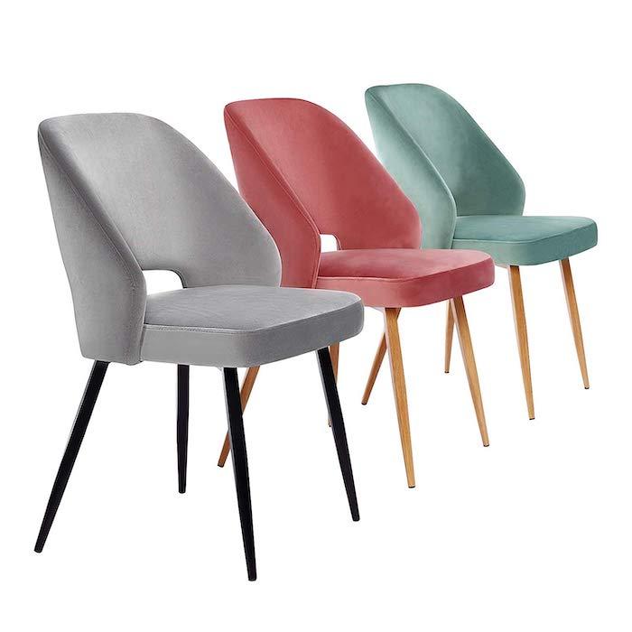 set de sillas de comedor Songmics