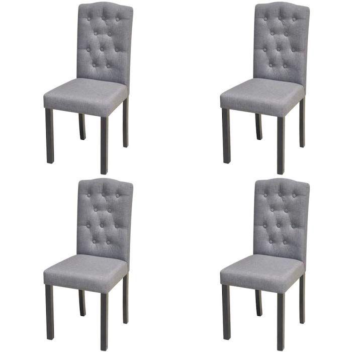 set de sillas de comedor VidaXL
