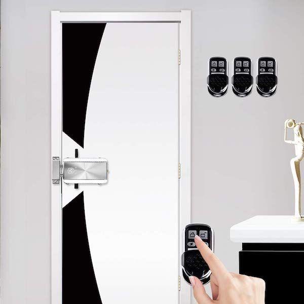 cerradura electrónica invisible inteligente Owsoo