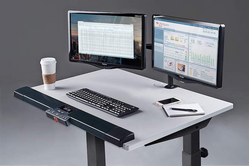cinta de correr con escritorio