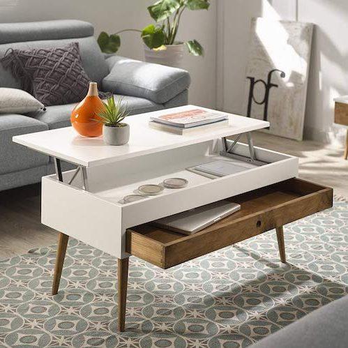mesa de centro elevable Hogar 24