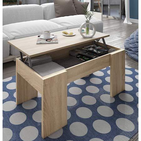 mesa de centro elevable habitDesign