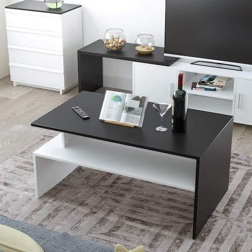 mesa de centro moderna homfa