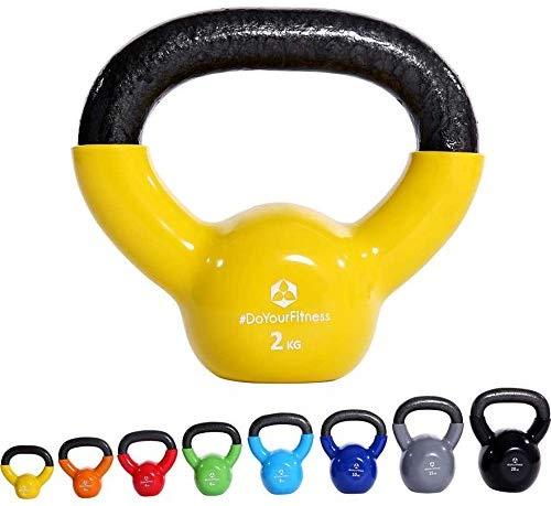 Kettlebell para ejercicio de brazos en casa