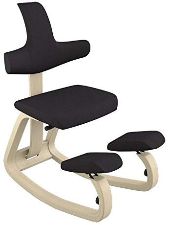 Silla ergonómica de rodillas con respaldo Varier stokke