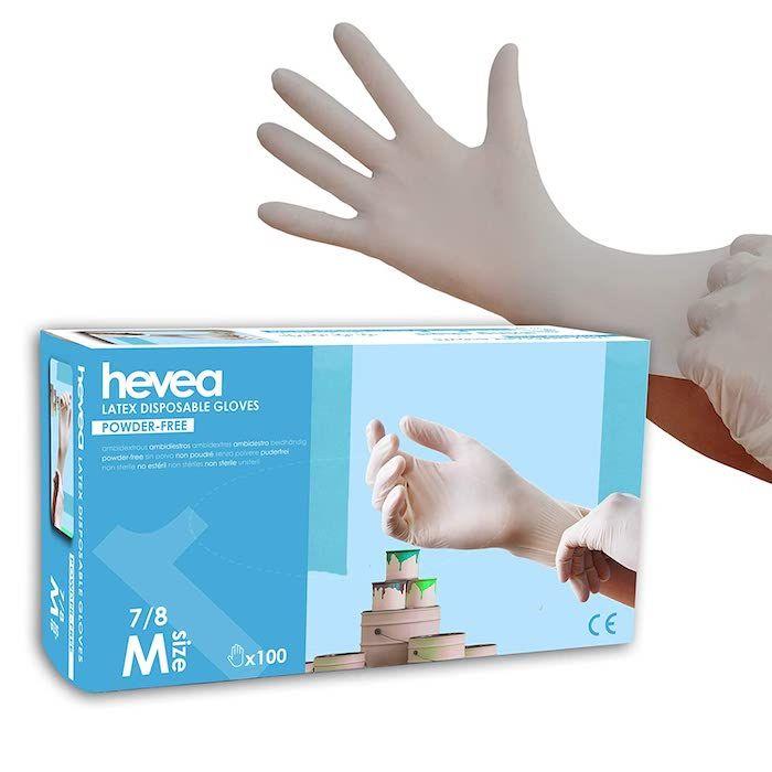 guantes desechables coronavirus