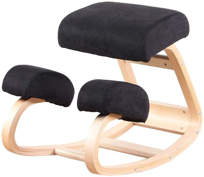 silla ergonómica de rodillas barata con balanceo