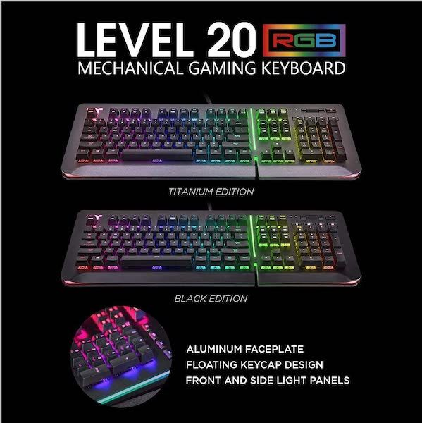 teclado gaming Thermaltake