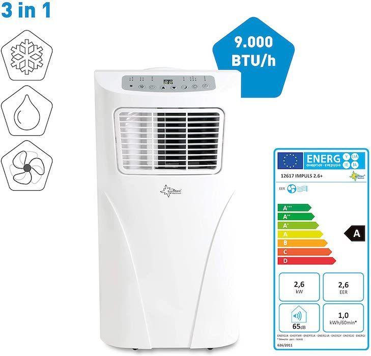 Aire acondicionado portátil Suntec Wellness