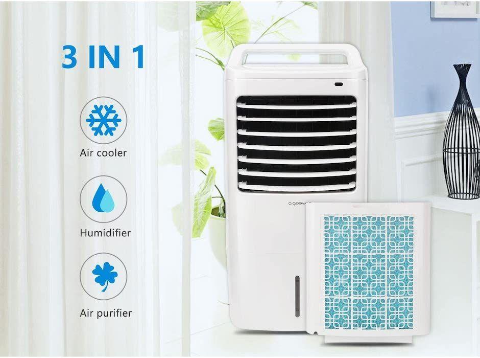 Climatizador evaporativo Aigostar
