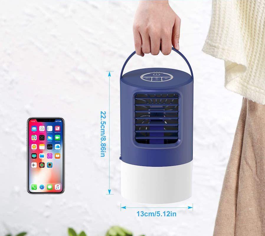 Climatizador evaporativo portátil TedGem