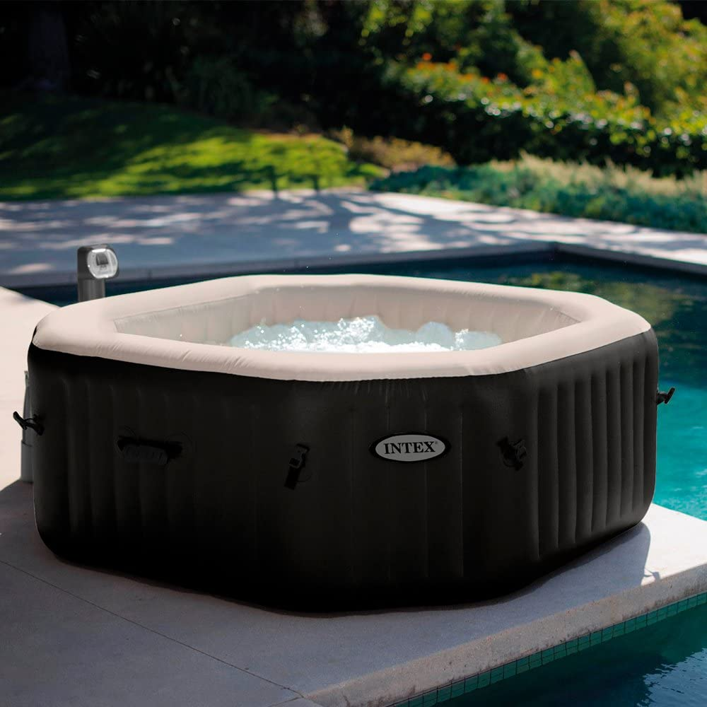 Jacuzzi hinchable barato Intex Deluxe octogonal