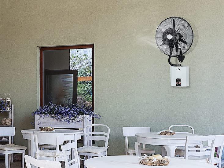 Ventilador nebulizador de pared PureLine