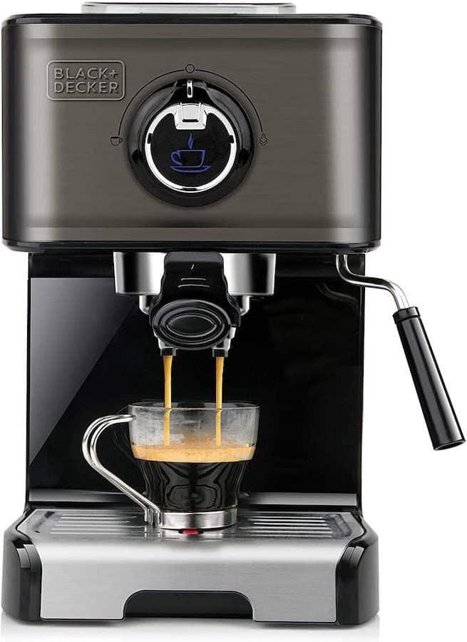 Cafetera espresso Black+Decker 200E