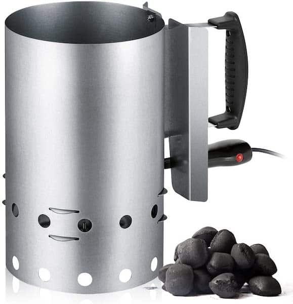 Encendedor carbón electrico barbacoas