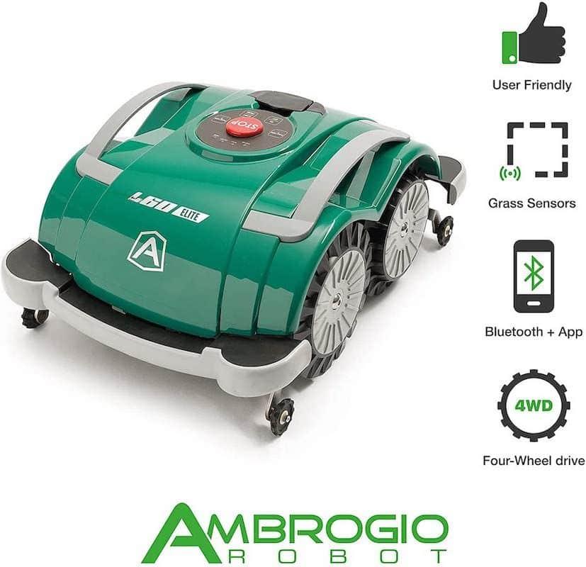 Robot cortacésped Ambrogio