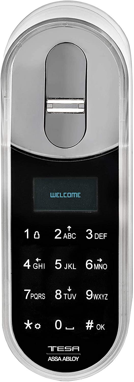cerradura inteligente teclado biometrico