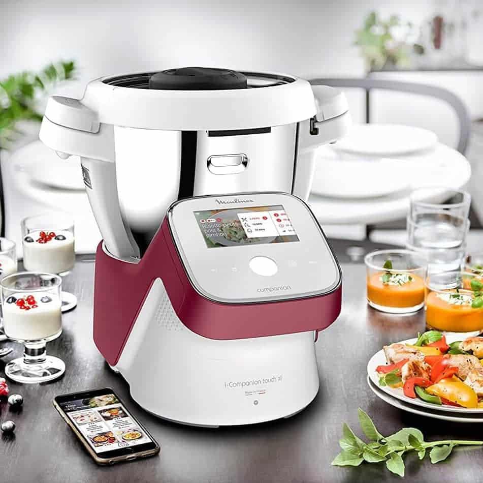 Mejores robots de cocina Moulinex I-Companion Touch XL