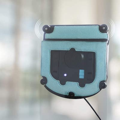 como funciona un robot limpiacristales
