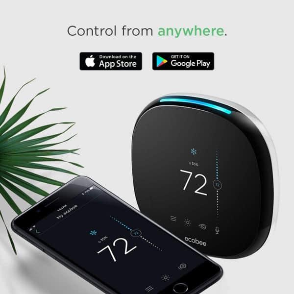 Mejor termostato inteligente Ecobee ecobee4