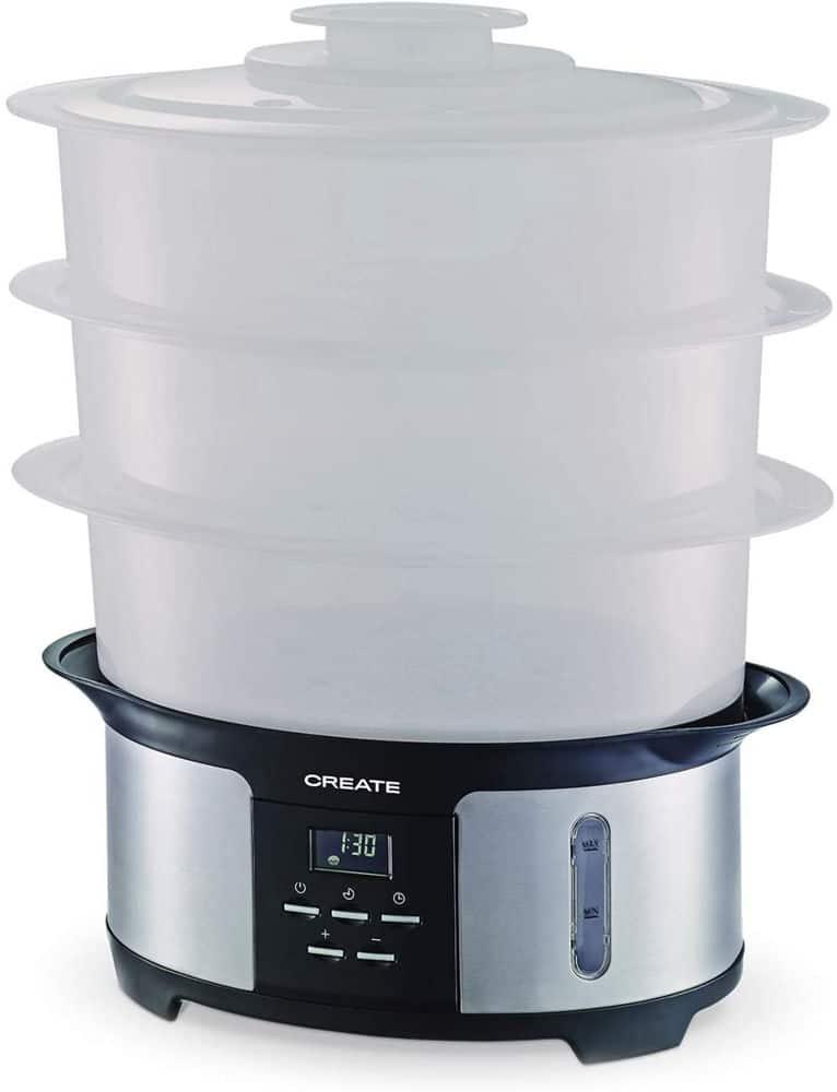 Mejor vaporera electrica calidad-precio Ikohs Create Pot Steam