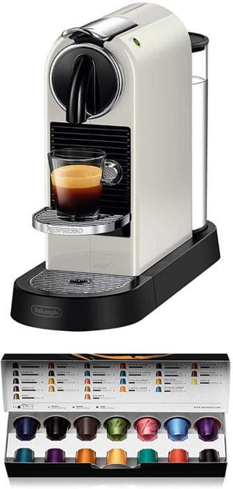 Mejores cafeteras Nespresso De'Longhi Citiz EN167.W