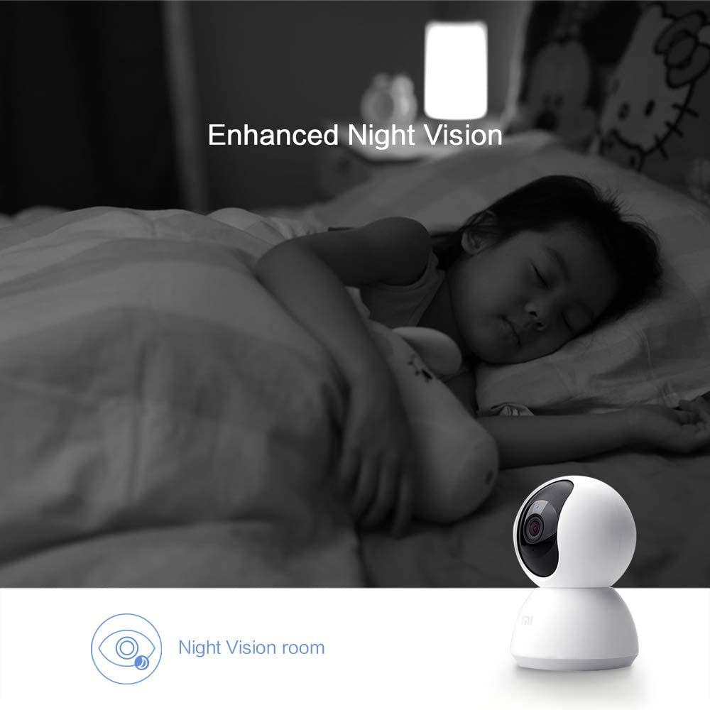 Mejores camaras de vigilancia wifi interior vision nocturna Xiaomi