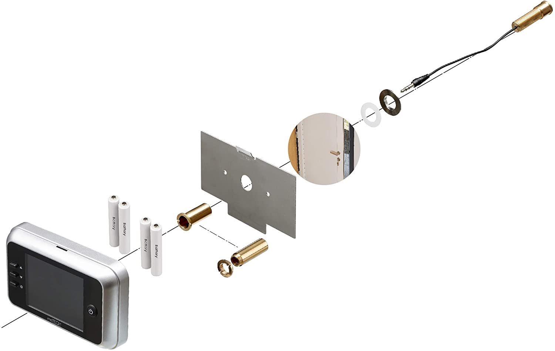 Mejores mirillas digitales - montaje prstech Doorcam DC1