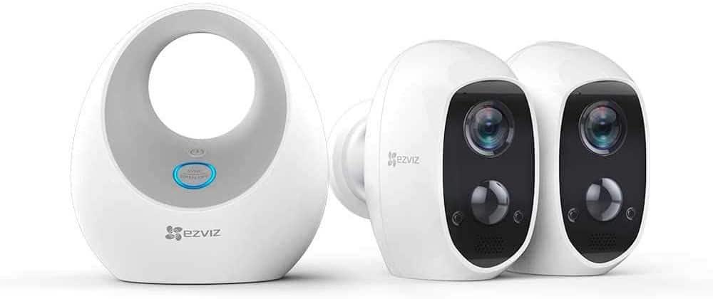 Mejores sistemas de vigilancia EZBIZ C3A