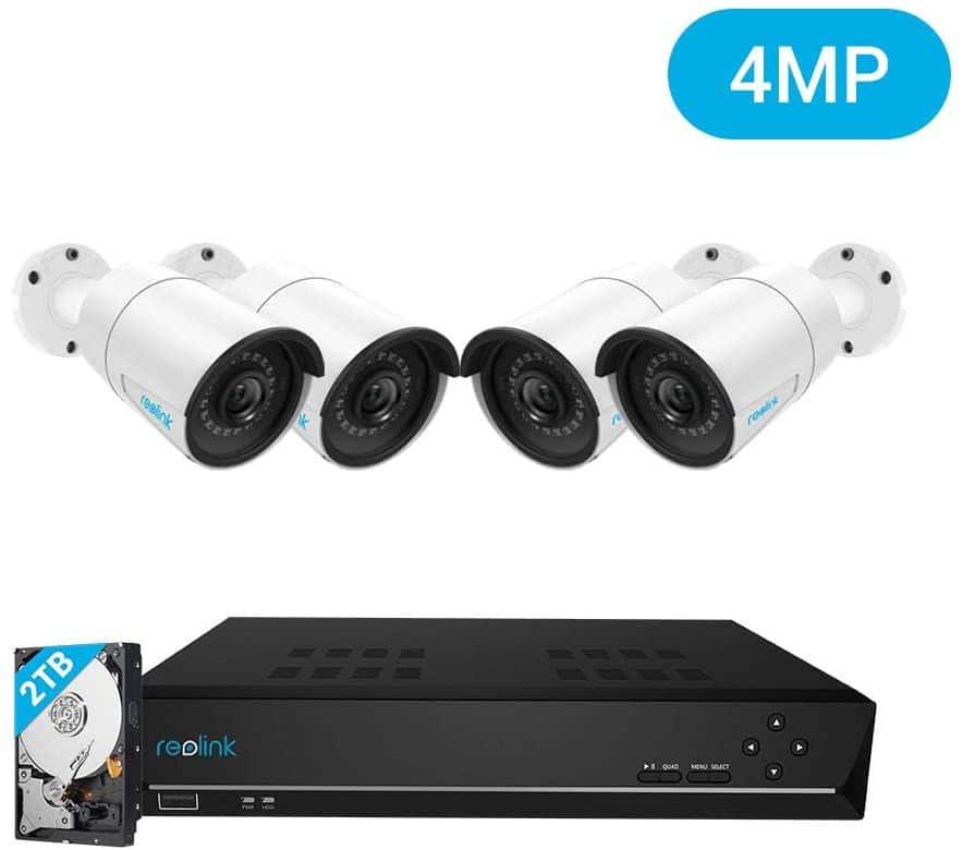 Mejores sistemas de vigilancia Reolink 8CH 4 MP