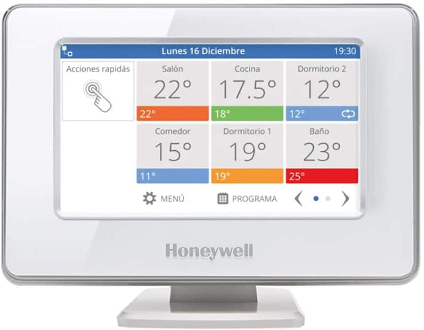 Mejores termostatos inteligentes Honeywell Home THR99C3100