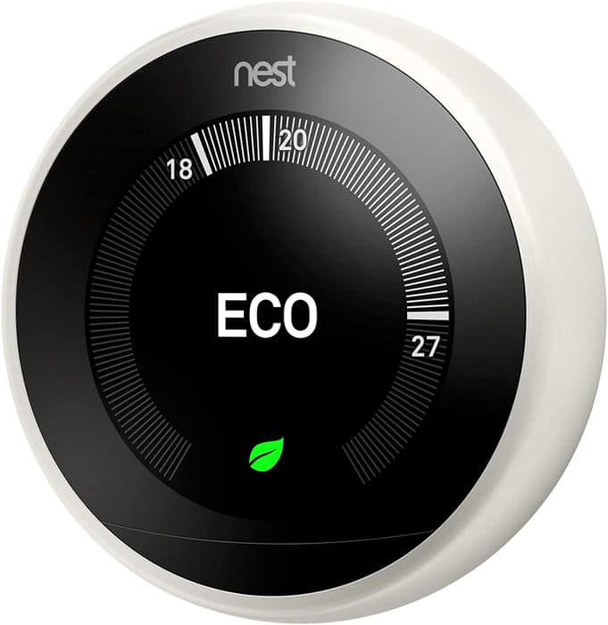 Mejores termostatos inteligentes Nest Learning 3 A