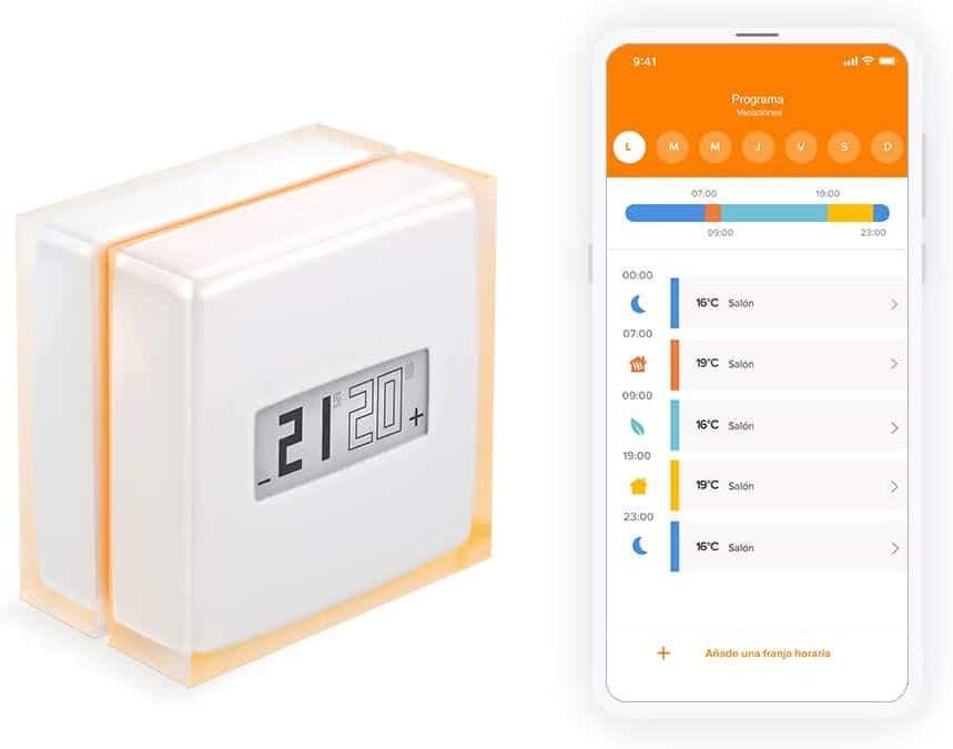 Mejores termostatos inteligentes Netatmo NTH01-ES-EC