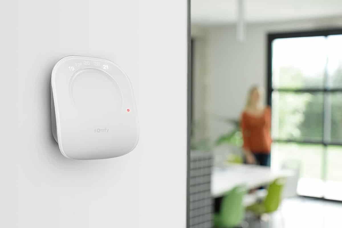 Mejores termostatos inteligentes guia de compra Somfy